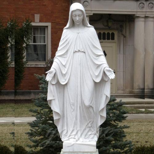 2017Popular Design Home Decoration White Marble Mary Statue on Stock2017Popular Design Home Decoration White Marble Mary Statue on Stock