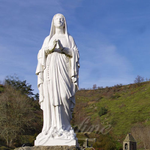 Blessed Western Design Garden Life Size Virgin Mary Decoration
