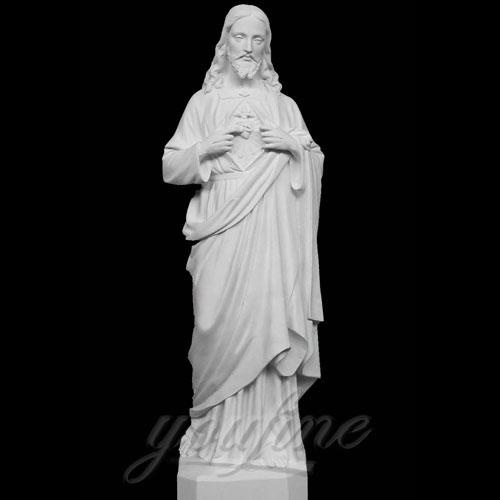 Blessing Sacred Heart of Jesus Christ Religious Statue for Church