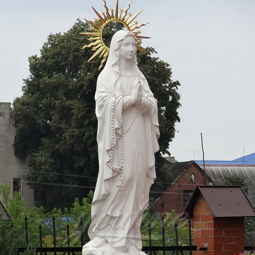 Cathedral Blessed Virgin Mary Mother Large Garden Statue on Sale