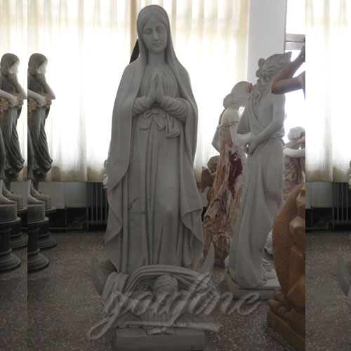 Famous Religious Sculptures Mother Mary With Baby Jesus
