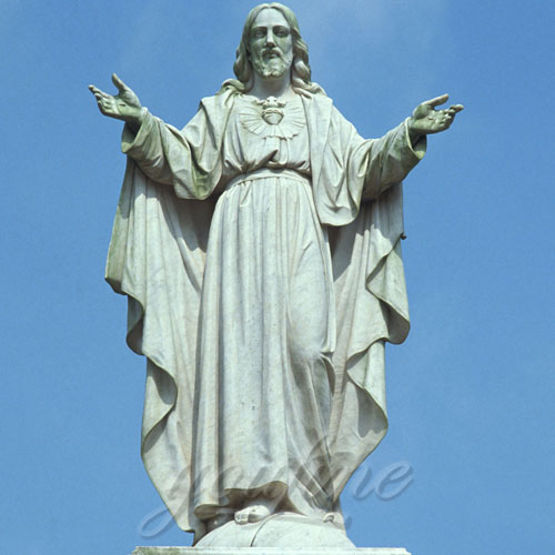 Garden Decor Jesus Christ Marble Statue on Sale