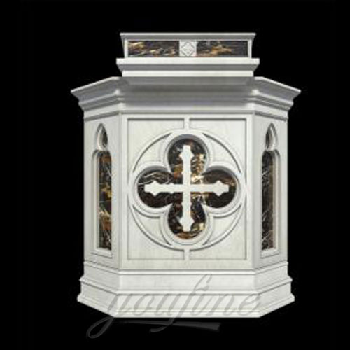 Hot Sale Church Products Luxury Marble Pulpit for Church