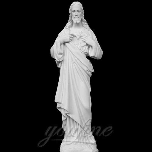 Hot Selling Religious Decorative Sacred Heart Jesus Statues for Church