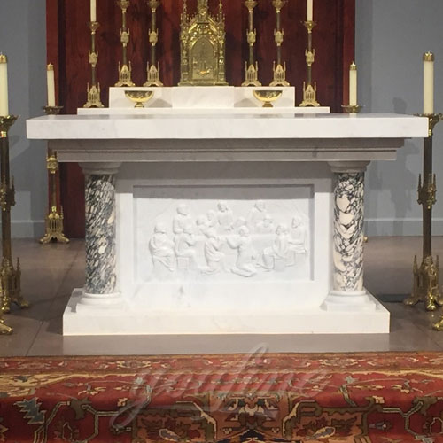 Wholesale Luxury White Marble Altar for Church