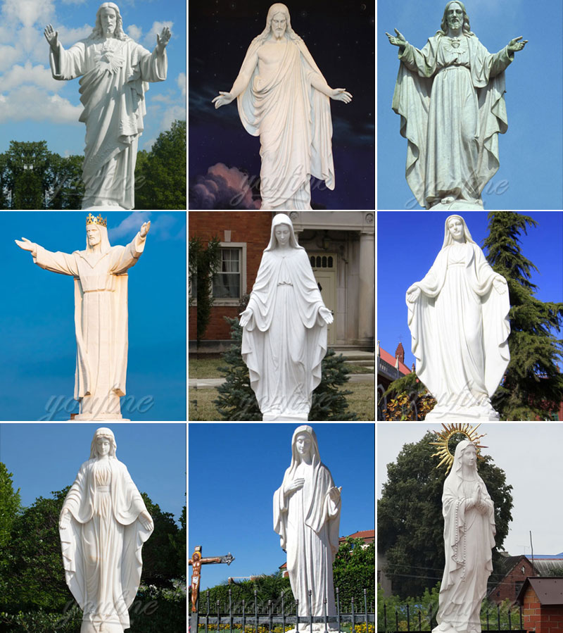 marble church statues